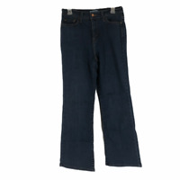Levis Womens Blue 512 Perfectly Slimming Bootcut Stretch Cotton Jeans Size 10