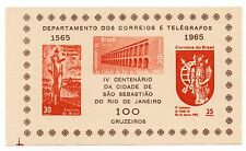 Brazil Scott 995a, MNH, Souvenir Sheet Deep Orange