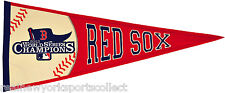 2013 BOSTON RED SOX WORLD SERIES CHAMPIONS PENNANT ORTIZ PEDROIA CHAMPS RARE