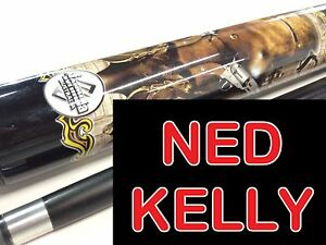 Graphite Pool Snooker Cue Billiard Bush Ned Kelly Such Is Life Bush Ranger