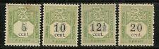 Luxembourg   Postage Due 1907  Scott  J1-4