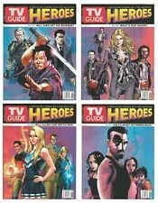 2007 TV Guide Heroes Graphic Novel Comic Book 4 Cover Set!