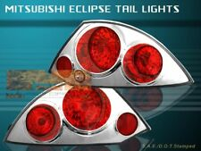 Anzo 221081 Black Clear Lens Halogen Tail Light fit for 00-05 Mitsubishi Eclipse