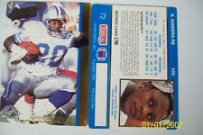BARRY SANDERS 1992 ACTION PACKED #72