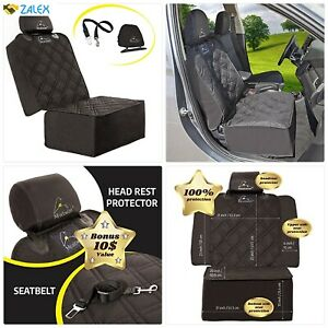 Meadowlark Car Seat Cover for Dogs. Premium Extra Thick Quilted Full Protection