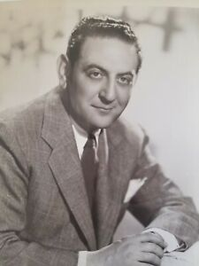 Guy Lombardo & His Royal Canadians Orchestra B&W 8x10 Promo Music Vintage Photo