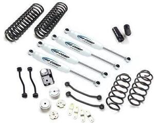 """Pro Comp 4"""" Stage 1 Lift Kit w/ ES9000 Shocks 07-18 Jeep Wrangler JK 2DR K3086B"""