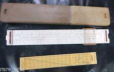 Vintage Engineering Slide Rule Conversion table Scale Aristo Studio 0968GERMANY