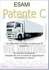 Manuale Esami Ed. 2020 Patente C * Libro Guida Esaustivo & Immagini Camion TIR
