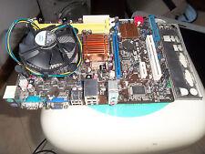 Scheda Madre Asus P5KPL-AM SE piu quad core Q6600 piu dissipatore