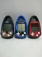 Tetris Nano, Space Invaders And Yahtzee Hand Held Travel Size Game. All working
