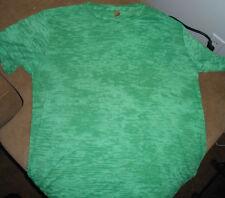 Men's Alternative Burnout T'shirt  Bright Light Green Short Sleeve XL  Xlarge