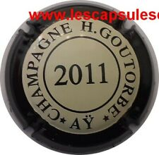 BELLE CAPSULE CHAMPAGNE H.GOUTORBE 2011 REF N°26a NEWS