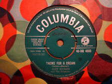 CLIFF RICHARD,  THEME FOR A DREAM,  COLUMBIA RECORDS 1961  EX