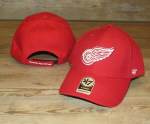 Detroit Red Wings '47 Team Colors MVP Adjustable Hat Cap size Men's