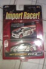 JADA TOYS IMPORT RACER RC CAR MITSUBISHI LANCER EVOLUTION EVO 8 VIII 1:64 MODEL