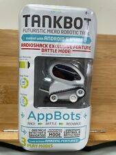 Tankbot Micro Robotic Tank - White - Android or IPhone - RadioShack NIB Sealed