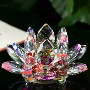 8 Colours Crystal Glass Flower Candle Tea Light stick Decor Candle Y1S1