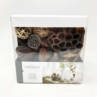 Threshold Vase Filler Unscented Mixture Lotus Pods Multicolor Natural 26 Pieces