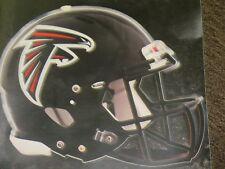 """ATLANTA FALCONS HELMET NFL Fathead Wall Graphics 11"""" x 9""""  (Poster/Sticker)"""
