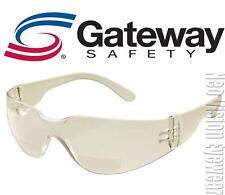 Gateway Starlite 2.5 Indoor Outdoor Bifocal Reader Magnifier Safety Glasses Z87+