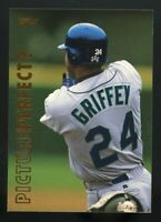 KEN GRIFFEY JR 1998 Topps PICTURE PERFECT #P1 Seattle Mariners HOF