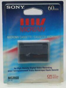 SONY MicroMV Micro Casette Memory MGR60 21m  ungeöffnet F2