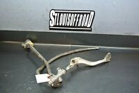 A 2008 08 Yamaha YFZ450 YFZ 450 Rear Master Cylinder with Brake Pedal and Line