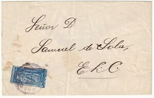 COLOMBIA - 1000 DAYS WAR - 5c COVER SENT LOCALLY - BARRANQUILLA - 1903 RRRR
