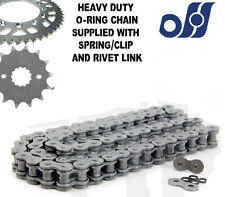 Kawasaki ZX-6R ZX600 F1-F3 Ninja 95-97 Heavy Duty O-Ring Chain and Sprocket Kit