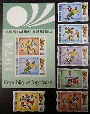 Togo, 1974 Soccer, Football World Cup, MNH (742)