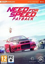 Need for Speed Payback PC - Code In Box - Same Day Dispatch - Super Fast DELIVER