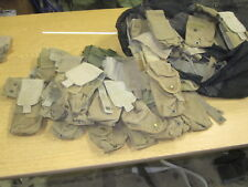 USED USGI 7 PIECE COYOTE MAG POUCH LOT VERY WORN BUT SERVICEABLE