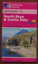 Landranger 32. South Skye & Cullin Hills. map 1998   B8.1445