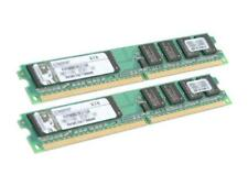 Kingston 1GB (2 x 512MB) 240-Pin DDR2 SDRAM DDR2 800 (PC2 6400) Dual Channel Kit