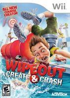 Wipeout: Create & Crash - Nintendo  Wii Game