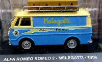 Alfa Romeo Romeo 2 - Melegatti 1956 - Scala 1:43 Die Cast - DeAgostini