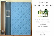 Poems of Heinrich Heine, Illustrations by Fritz Kredel, Heritage Press