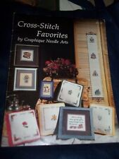 Cross-stitch Favorites by Graphic Needle Arts 20 Designs 1979