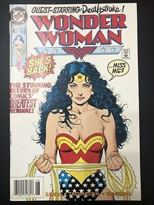 DC Comics Wonder Woman-She's Back (Thrilling Conclusion to Special #11-1992) VF
