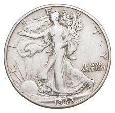 AU/Unc - 1943-D Walking Liberty Silver Half Dollar - Better *498