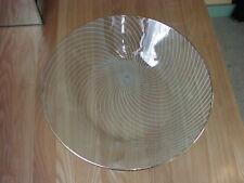 "Retro Fiesta/Chance Bros Glass ""Swirl"" Pattern Bowl 25cm Dia"