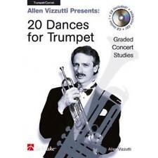 20 Danzas para trompeta por Allen Vizzutti Libro De Bolsillo 9789043105521 NUEVO