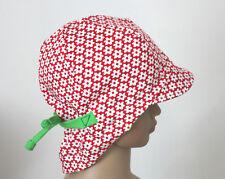 Blumen Sommerhut  Mädchen Sommermütze-Schirmmütze rot  grün Baby Kinder DaWanda