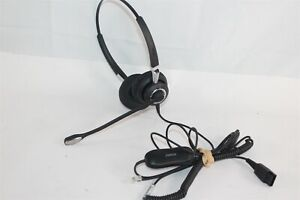 Jabra Biz 2400 II QD Duo Ultra Noise Cancelling Headset 2409-720-209