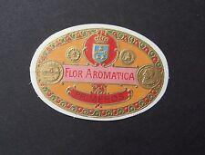 Ancienne étiquette BOITE DE CIGARE Flor aromatica old box cigar label