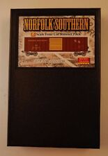 Z MTL 99400063 * Box Car Runner Pack 4 Car Set, Norfolk Southern - NIB