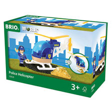 Brio Police Helicopter 33828 New