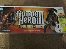 Guitar Hero 3 Nintendo Wii Gibson Les Paul Guitar Original Box NO GAME