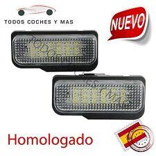 PLAFONES LED MATRICULA MERCEDES HOMOLOGADO E4 W203 5D W211 W219 W171 LUCES LED